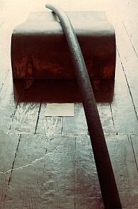 Om Generator on display at Unicorn Gallery, San Francisco, CA, 1968.